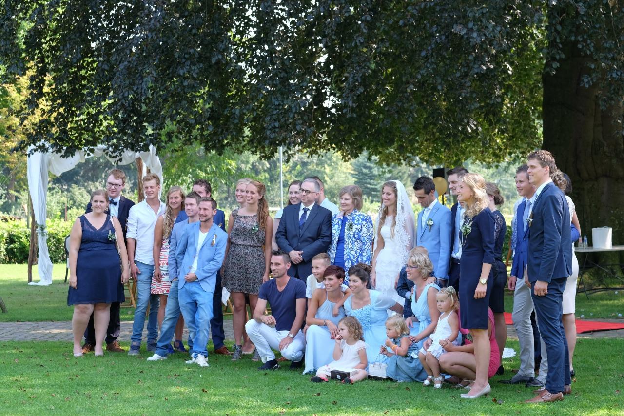 Trouwfoto's maken bij Buitensociëteit & Bowling in Deventer